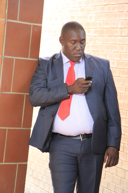 Sukwana Lukangaba as Special Assistant for Legal Affairs at State House- picture by Tenson Mkhala