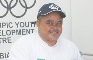 Thomas chileshe ZBF president: File picture