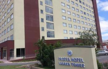 Protea Hotel, Lusaka tower: File picture