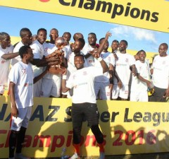 Zanaco football team: File picture