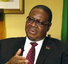 President of the Republic of Malawi Prof Arthur Peter Mutharika