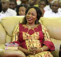 Regina Chiluba: file picture