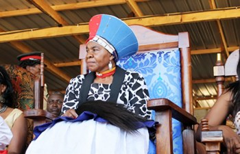 Chieftainess Nkomeshya Mukamambo II: File picture