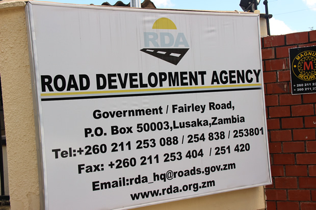 RDA head office in Lusaka-picture by Tenson Mkhala