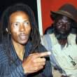 Maiko Zulu on UNZA Radio's Lusaka Star programme with artist Khuzwayo Chisi -picture by Tenson Mkhala