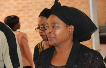 Mutinta Hichilema at Lusaka Magistrates Court-picture by Tenson Mkhala