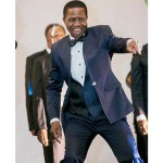 President Edgar Lungu dances at the Meet the President Dinner