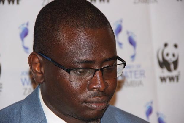 World Wide Fund Zambia Head of Communications and marketing Eneya Phiri-Picture by Tenson Mkhala