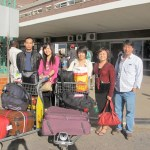 Chinese arrivals at Kenneth Kaunda International Airport
