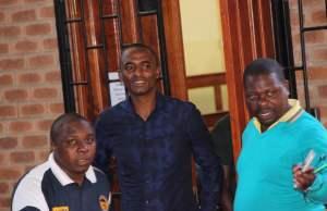 Chilanga MP Keith Mukata at Lusaka's Magistrate Court -Picture by Tenson Mkhala