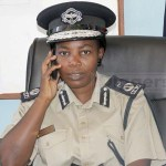 Copperbelt Province Commissioner of Police Charity Katanga - Picture by Joseph Mwenda