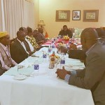 Lungu with Lamba chiefs in Ndola