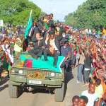 Generic: Zambia National Team returns after winning the 2012 edition of the senior Africa Cup of Nations - picture by Joseph Mwenda