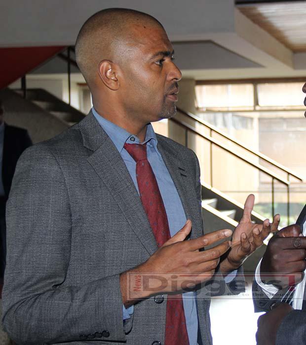 Chilanga Member of Parliament Keith Mukata picture by Tenson Mkhala