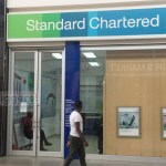 Closed Standard Chartered Bank branch at Levy Mall