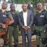 Wealthy jerabo recruits police bodyguards