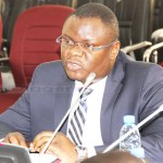 Industrial Development Corporation (IDC) chief executive officer Mateyo Kaluba speaks when he appeared  before the Parliamentary Committee on parastatal bodies at parliament building on January 25, 2018 - Picture by Tenson Mkhala