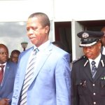 President Edgar Lungu leaves Parliament building shortly after his address on March 16, 2018 - Picture by Tenson Mkhala