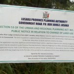 Kafue residents rise as govt turns '3 million' hectares of land to commercial