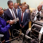Rehabilitation works on Govt Printers start, ahead of 2021