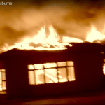 Fire burns down police spokesperson's house
