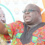 NDC leader Chishimba Kambwili addresses journalists at his house in Lusaka on January 2, 2019 – Picture by Tenson Mkhala