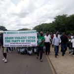 PF cadres march to Parliament
