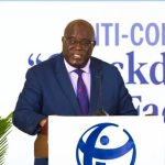 Transparency International vice chairperson Rueben Lifuka speaks at the 2019 Anti Corruption Conference organized by Trinidad and Tobago Transparency Institute in Port of Spain, on March 21, 2019 at Hilton Trinidad Hotel