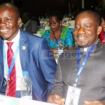 Chipili MP Jewis Chabi with Mfuwe PF MP Mwimba Malama at the official opening of the National Dialogue Forum at Mulungushi International Conference Centre on April 24, 2019 - Picture by Tenson Mkhala