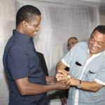 President Edgar Lungu enjoys a light moment with Valden Findlay at State House