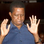 President Edgar Lungu during the day of Prayer and Fasting held at Mulungushi International Conference Center in Lusaka on February 22, 2020 – Picture by Tenson Mkhala