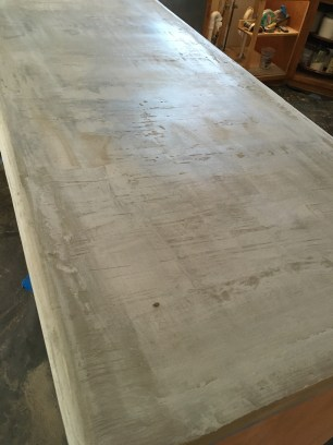Pre-Sanding state of the layer