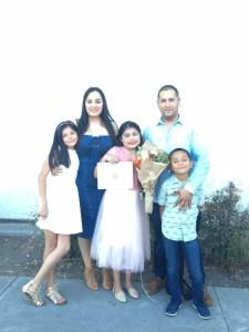 Fernanda with family