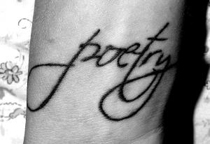 Poetry Tattoo