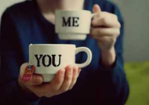 me and you tea cups