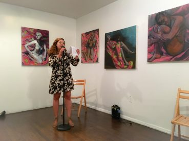 Gessy Alvarez with art by Charlotte Sims