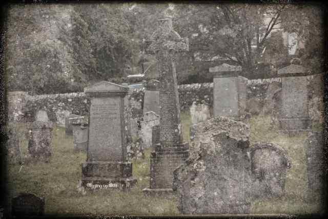 Aberfoyle Kirkyard Stirlingshire