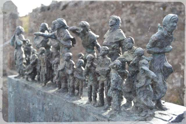 Bronze Sculpture commemorating Eyemouth Memorial 'Black Friday' 1881