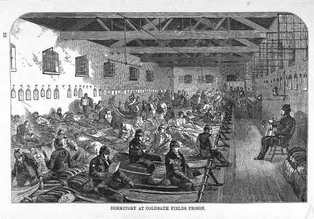 Coldbath Fields Prison via Wellcome Collection