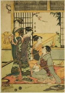 Utamaro Drums Shamisen