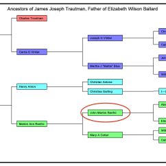 Simple Pedigree Diagram 7 Pin Trailer Light Wiring John Marion Renfro  Union Soldier And Polygamist 52