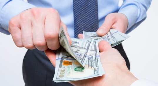 metodo di pagamento in contanti