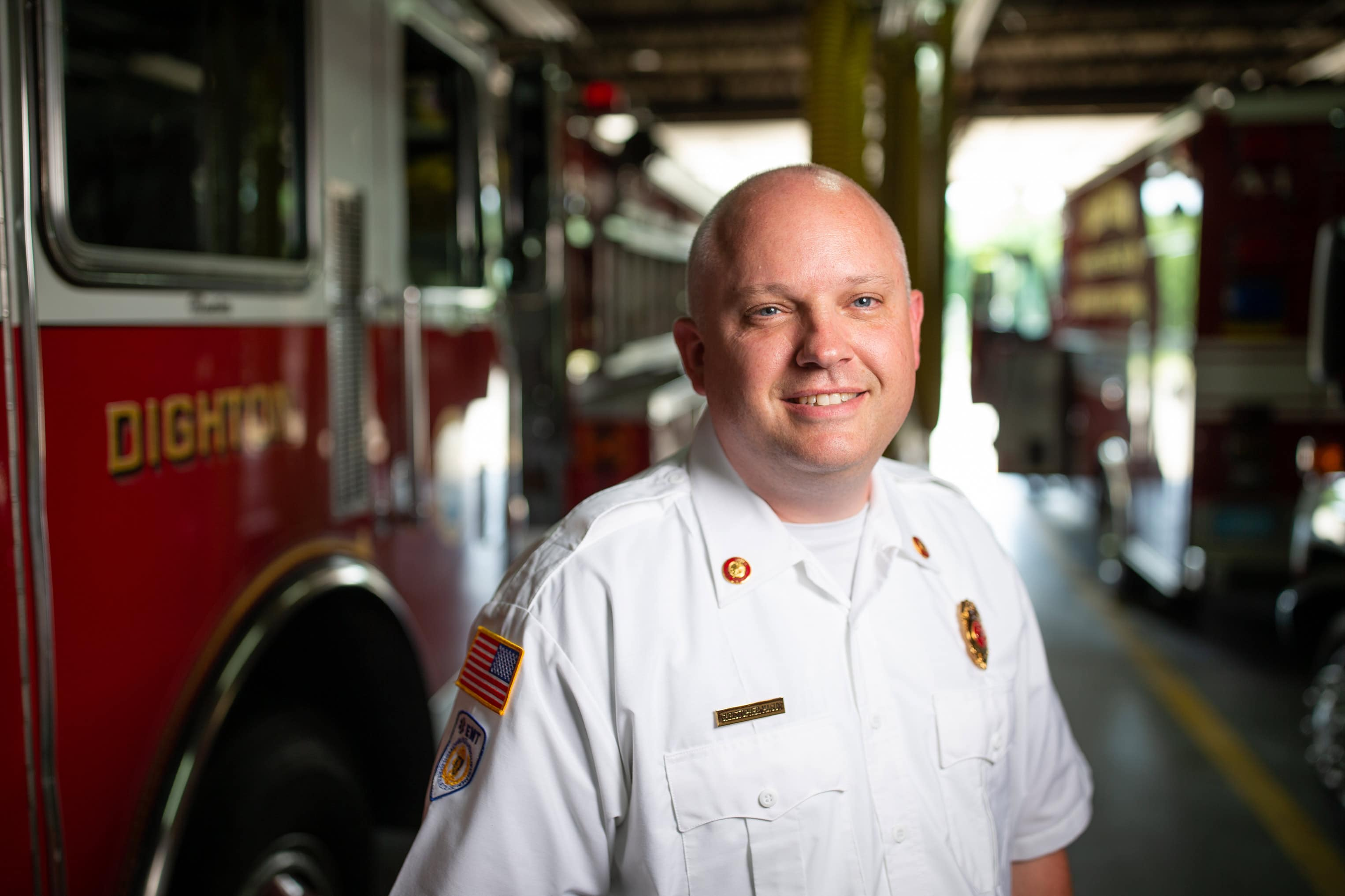 Dighton Fire-Rescue Chief Christopher Maguy