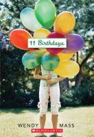 11 birthdays book cover image