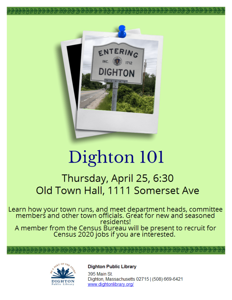 Dighton 101 flyer