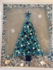 Mermaid Christmas Tree Frame