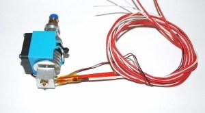 Głowica do drukarki 3D, wersja bowden