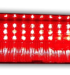 1969 1970 dodge charger led tail light panels [ 3174 x 639 Pixel ]