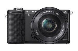 SonyAlphaa5000MirrorlessDigitalCamerawith16-50mmOSSLens-Black-