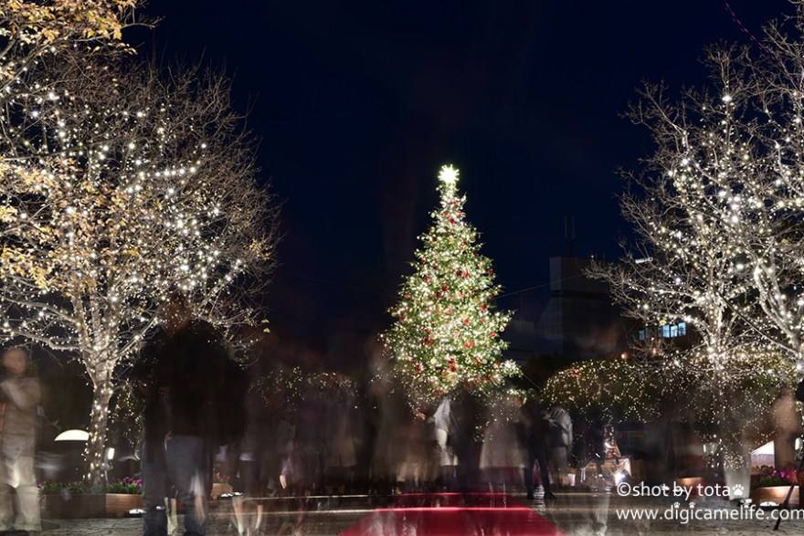 恵比寿ガーデンプレイスクリスマスツリー